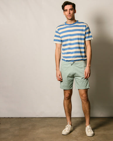 Heritage Drawcord Short Blue grey
