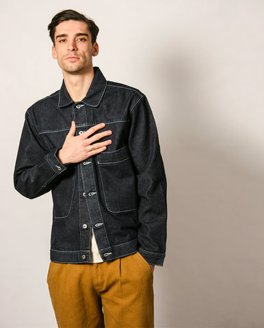 Dawn Jacket Denim Blue