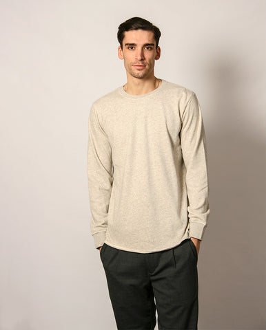 Terry T-Shirt Grey Marl