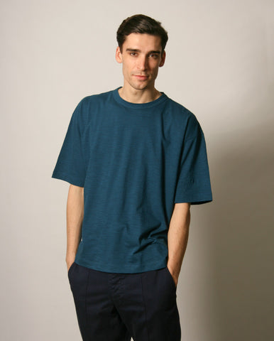 Triple SS Tee Blue / Navy