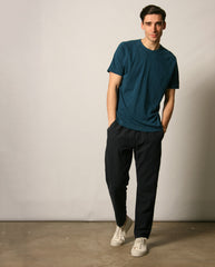Cotton Linen Trouser NAVY