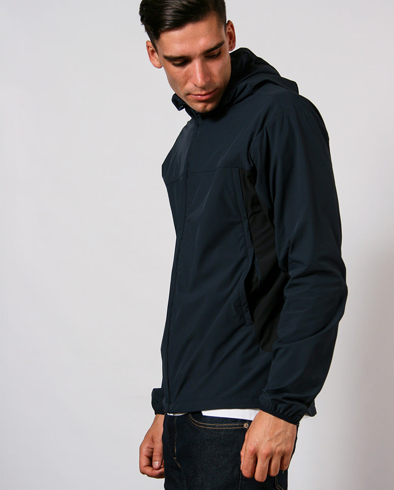 Arvid Running jacket Dark Navy