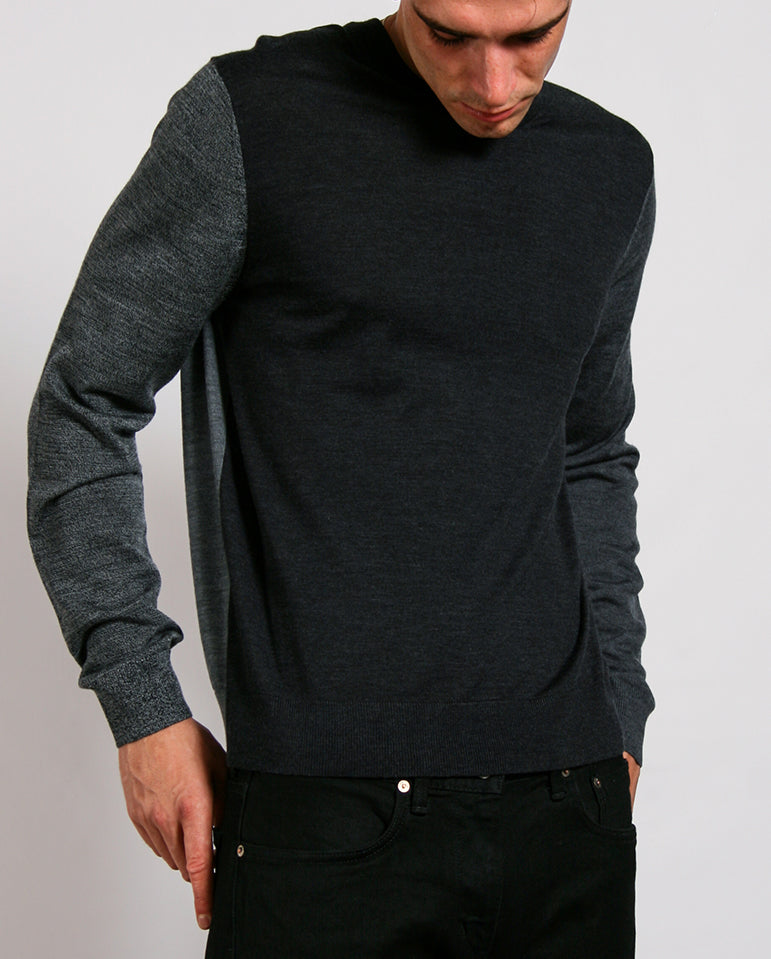 Merino Colour Block Knit