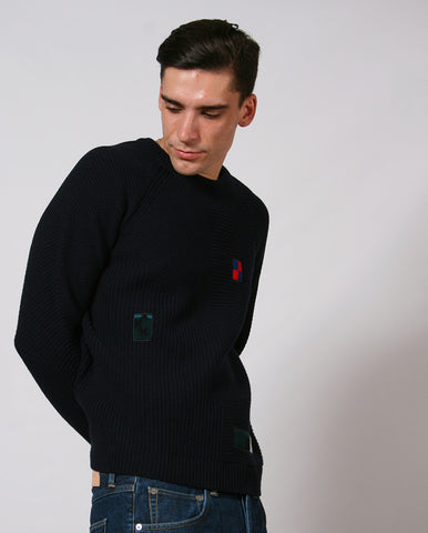 Repair Knit NAVY
