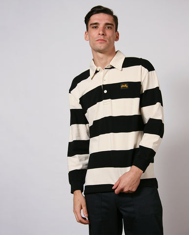 Rugby Shirt Black/Natural