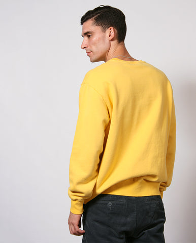 Workers Crew Sweat YELLOW