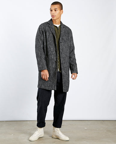 Tag Coat Mottled Charcoal