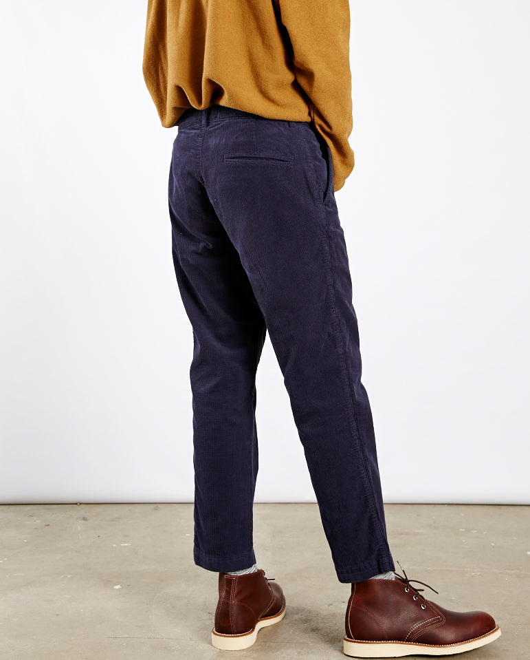 Hand Me Down Cord Trouser NAVY