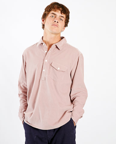 Cord Shirt Light Plum