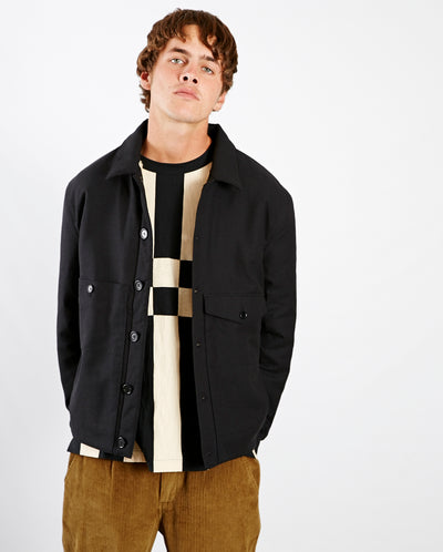 Pinkley Shearling Jacket BLACK