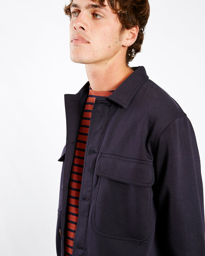 Normsk Fleece Jacket NAVY