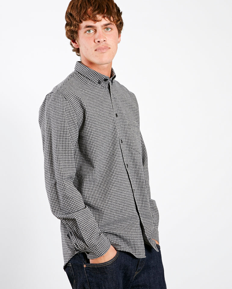 Relaxed Fit mini checked Shirt