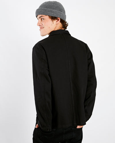 Barney Worker Jacket BLACK