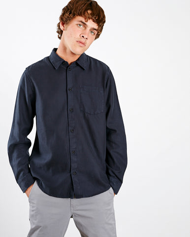 Chuck Fluid Shirt NAVY