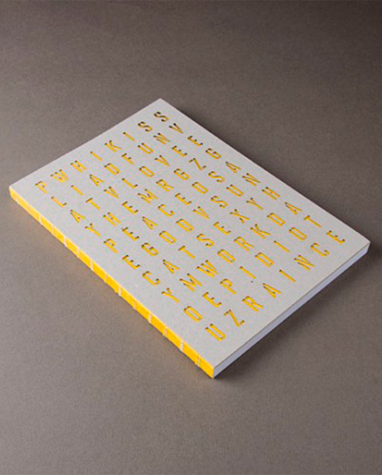 Crypto Notebook Yellow
