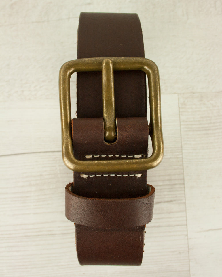 Amber-Sequoa Leather Belt AMBER