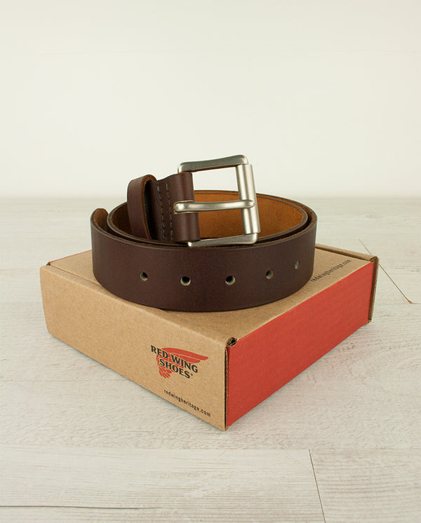 Legacy Sequoa Leather Belt Oro