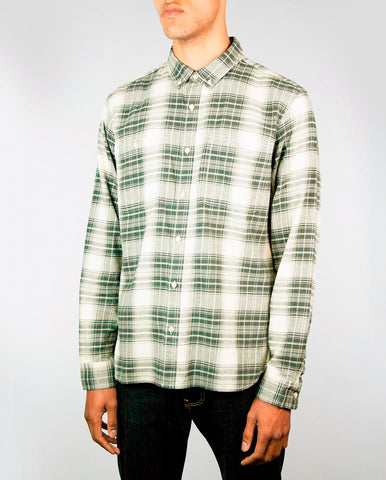 Tripple Check Shirt Green/Grey