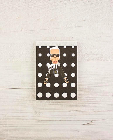 Fashion King Mini Note Pad