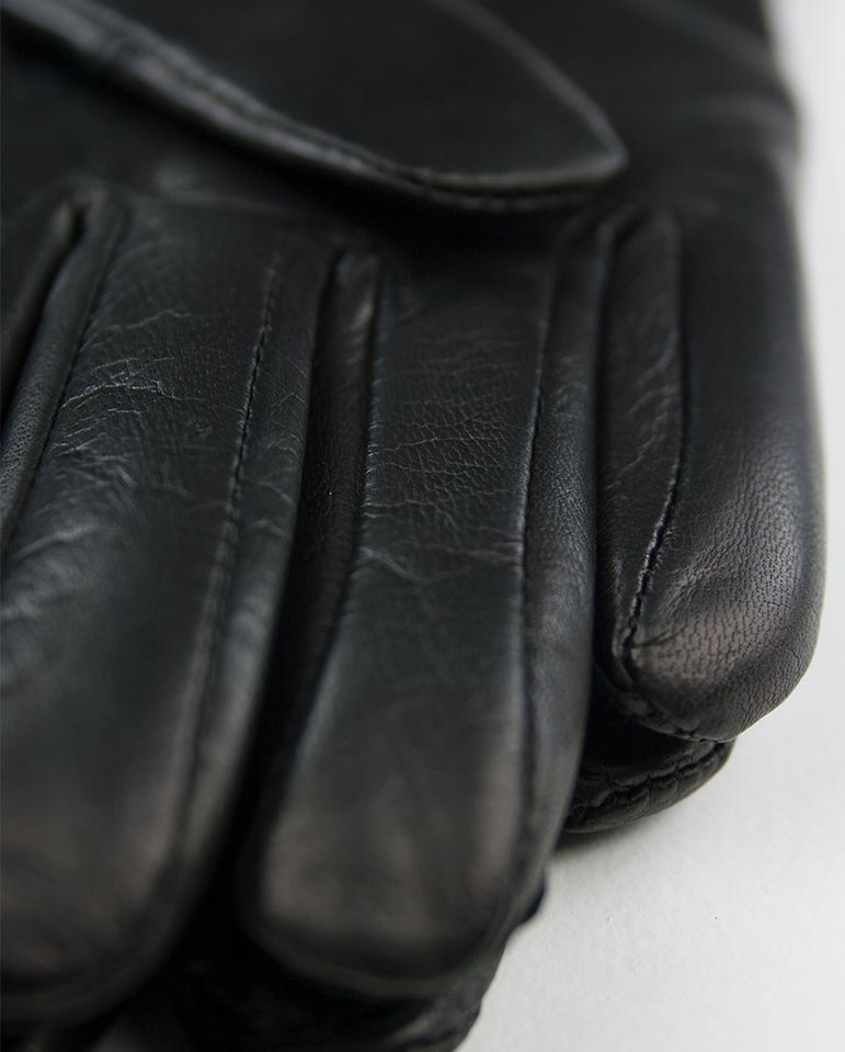Megan Leather Glove Black
