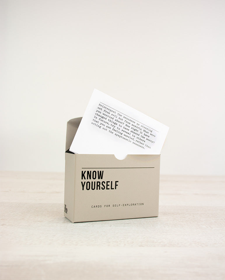 Know Youself Prompt Cards N/A