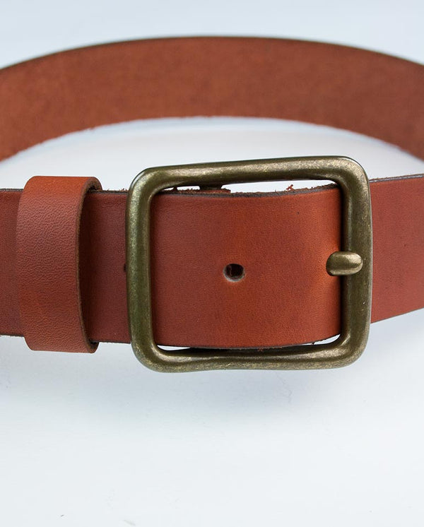 Sequoa Belt Mid Brown