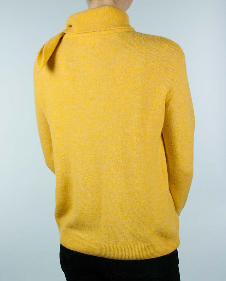Yellow Bow Sweater