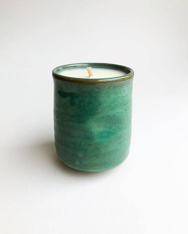 Japanese Kadoma Mint Candle