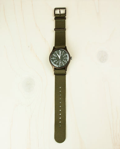 MK1 Aluminum 40mm Fabric Watch
