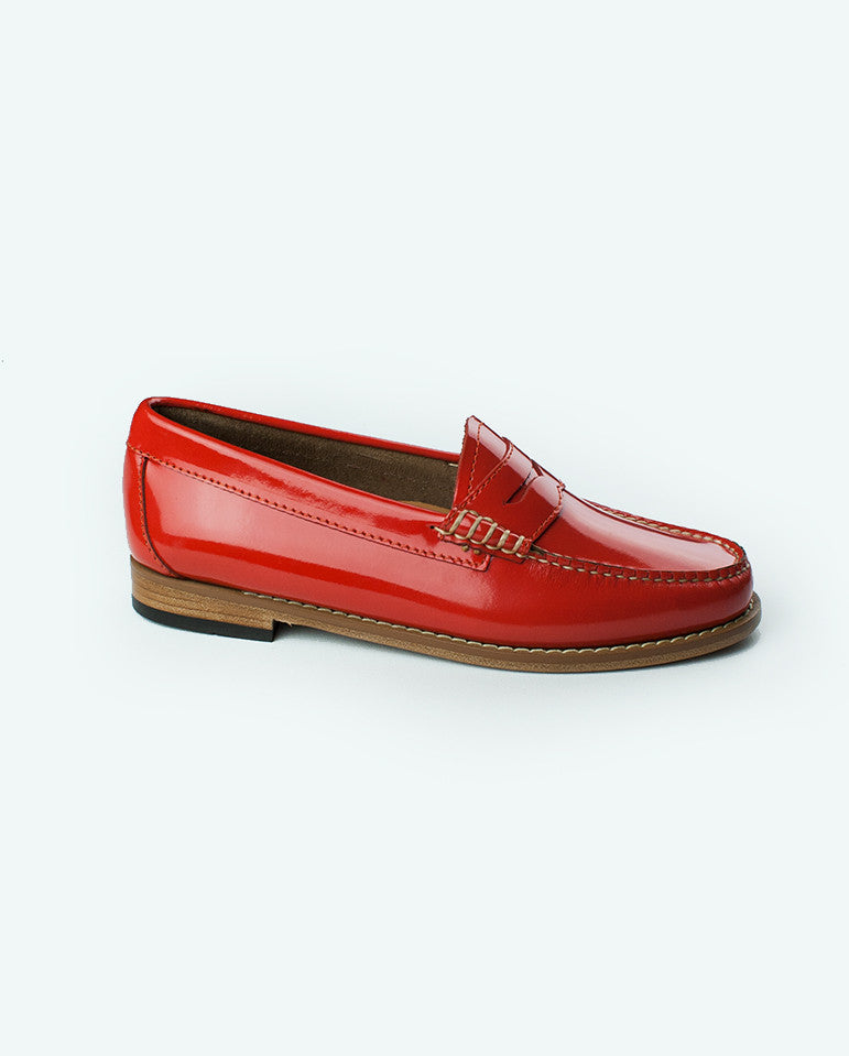 Penny Loafer Coral
