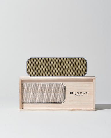 AGroove Bluetooth Speaker Grey