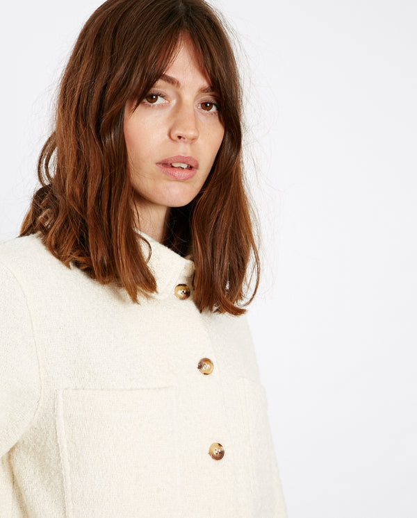 Kate Textured Overshirt