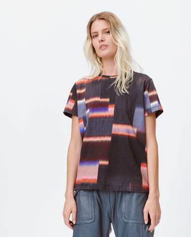 Lady Distorted Tee MULTI