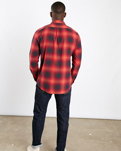 Light My Fire Shirt Red Check
