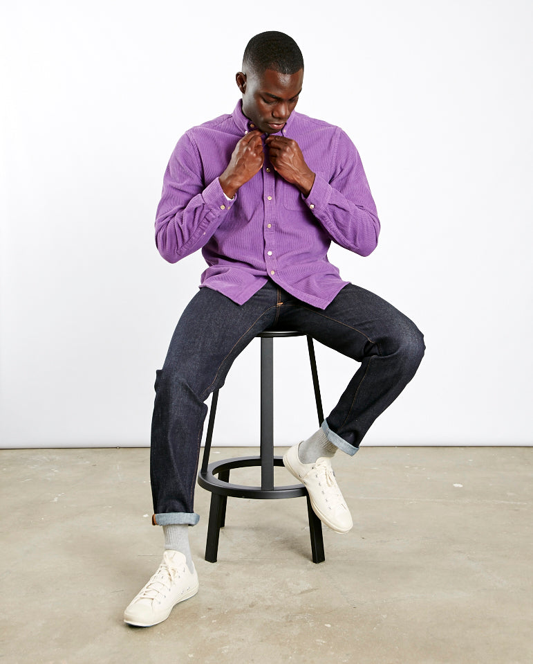 Lobo Cord Shirt PURPLE