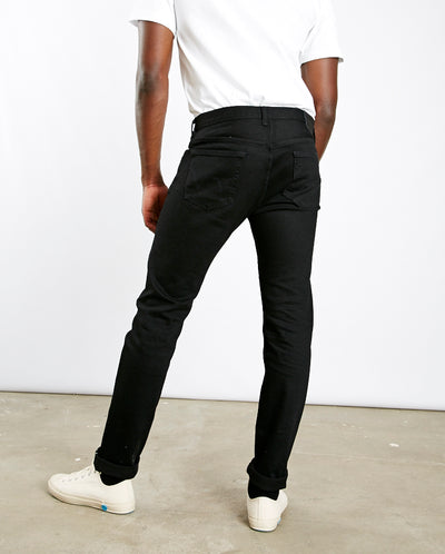 Kaihara Black stretch jeans