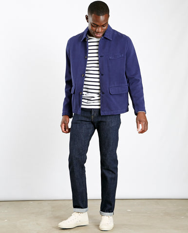 Warmus Jacket Trio Twill Navy