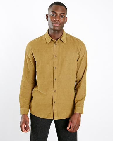 Babycord Shirt Tobacco