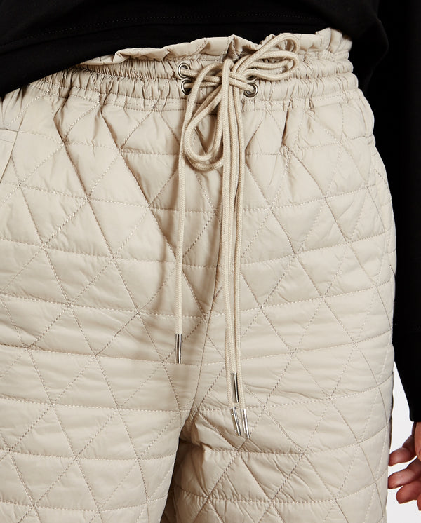 Nille Padded Trousers BEIGE