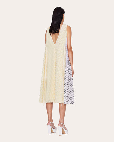 Parker Chiffon Mix Dress Daffodil