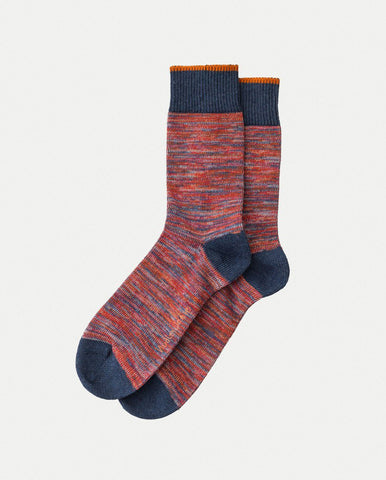 Rasmusson Multi Yarn Socks RED
