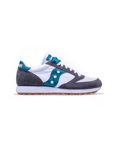 Men's Jazz Original Grey/White/Teal