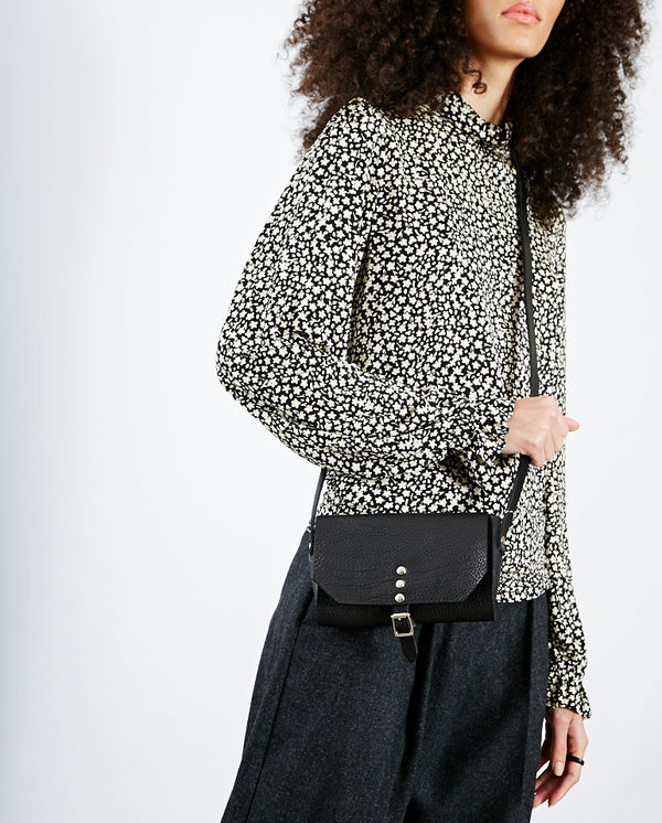 Mini Stud Buckle Bag BLACK
