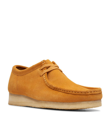 Men's Wallabee Shoe Tumeric