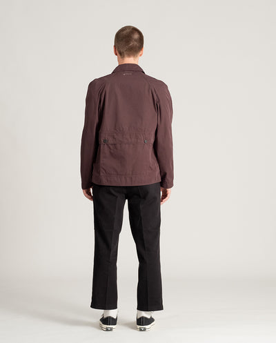 Raglan Hunting Jacket Muted Plum