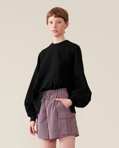 Bell Sleeve Sweat BLACK