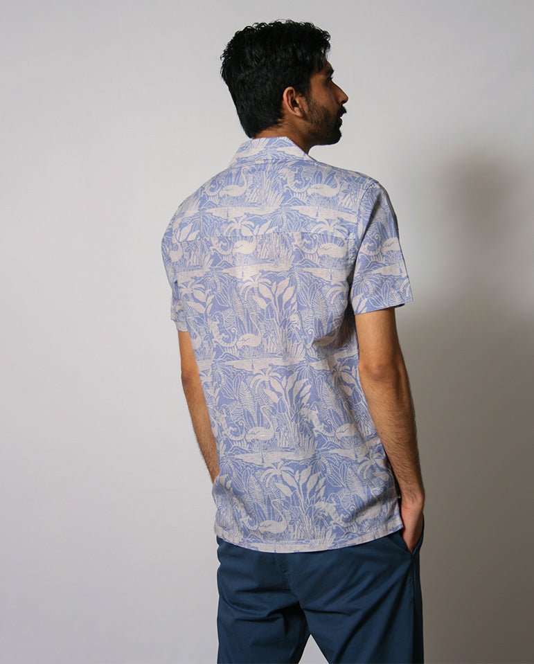 Selleck Salines Shirt BLUE