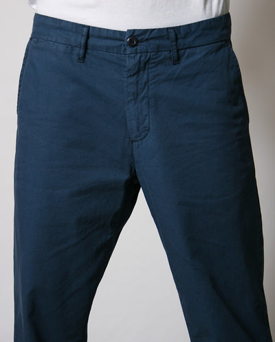 Johnson Pant Cotton Blue