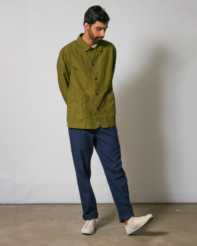 Railwayman Jacket GREEN