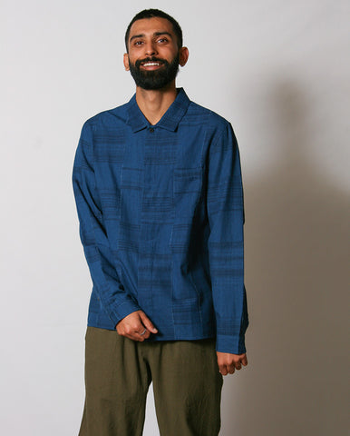Patch Shirt INDIGO